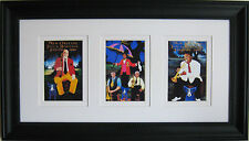 "GEORGE RODRIGUE NEW ORLEANS JAZZ FEST / JAZZ CLUB TRIO - FRAMED - 23"" x 13"""