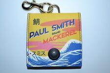 """Paul Smith Hommes """"Maquereau Imprimé """" Cuir Porte-Monnaie Tout Nouveau"""