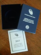 2013-W AMERICAN EAGLE UNCIRCULATED ONE OUNCE SILVER (Mint Packaging) NO COIN!