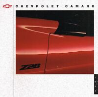 1994 Chevy CAMARO Brochure with Color Chart: Z28, CONVERTIBLE, Z-28, free ship