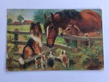 Antique Raphael Tuck Postcard Chums S8646
