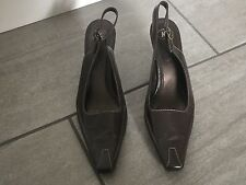 Clarks K Ladies Heeled Slingback Shoes Size 4. Great Condition.