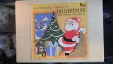 Disneyland Records 30 Favorite Songs Of CHRISTMAS with Chimes and Chorus LP 1963