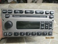 🥇 2001-2002 FORD EXPLORER RADIO AM-FM STEREO 6 DISC CD PLAYER ID 1L2F-18C815-MB