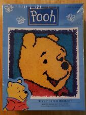 "Caron Disney Winnie The Pooh Latch Hook Kit Size 13""x13"" New In Box Wp0001"