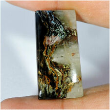 20.50Cts Natural Golden Pietersite Octagon Cabochon Loose Gemstone