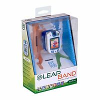 LeapFrog LeapBand Blue Kids Leap Band Activity Watch Ages 4+ Years New Toy Boys