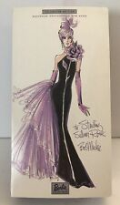 Sterling Silver Rose Barbie Doll Bob Mackie Exclusively For Avon 53865 NRFB