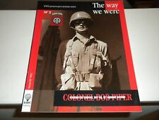 WWII US 82nd Airborne The Way We Were Colonel Bob Piper Reference Book 2002