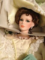 Effanbee Doll Lady Alexandra's Afternoon Tea Doll Large NIB Certificate 1992
