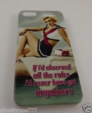 for Iphone 5 phone case Marilyn Monroe  Sailor outfit observed the rules