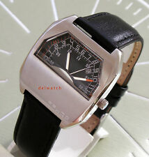 montre flyback style double aiguilles secteur lip difor neuf rare cool exclusif
