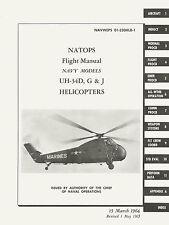 SIKORSKY UH-34D, G & J FLIGHT MANUAL / NAVWEPS 01-230HLB-1