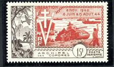 STAMP / TIMBRE COLONIES FRANCAISES COMORES PA N° 4 ** LIBERATION