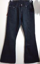LEVI STRAUSS Original 450 Red Tab LEVI'S X Flare JEANS Women W25 L32 Black Lot43