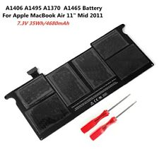 """New listing Genuine Oem A1406 A1495 A1370 A1465 Battery For Apple MacBook Air 11"""" Mid 2011"""