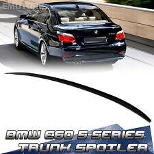 Unpainted 5-Series For BMW E60 Sedan M3 Style Trunk Boot Lip Spoiler 525i 2010