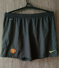 Nike Manchester United Home Training Football Shorts Soccer MUFC Mens Size L