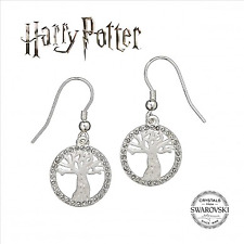 Officially Licensed Harry Potter Swarovski Crystals Whomping Willow Earrings