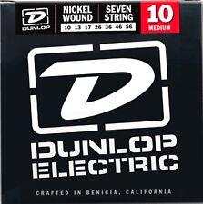 Dunlop Níquel Herida 7 Cuerdas Guitarra Eléctrica Cuerdas .010 - Juego de 7 Cuerdas .056 ()