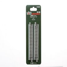 "kato 20-020 N Scale UniTrack 124mm 4 7/8"" Straight Track 4pcs"