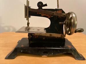 Vintage 1930s German Casige? Hand-Cranked Child's Sewing Machine