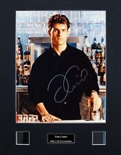 Tom Cruise Ver1 Signed Photo Film Cell Presentation