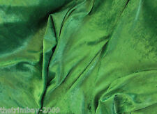 Top Quality Crushed Velvet Fabric Craft Stretch Velour 150 cm - 2 metre listing
