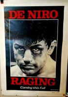 poster on linen Martin Scorsese's RAGING BULL 1980 ADVANCE USA1sht LINENBACKED