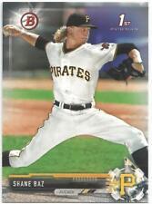 Shane Baz Pittsburgh Pirates 2017 1st Bowman Draft Baseball