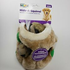 "OUTWARD HOUND - Hide A Squirrel Dog Toy Large - 7"" High NEW NWT"