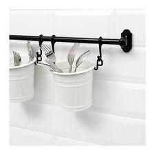 IKEA FINTORP Enamelled Steel Cutlery Stand Holder Utensil Hanging Storage Rack