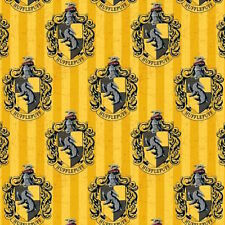 Camelot Harry Potter Digital Hufflepuff 100% cotton fabric by the yard