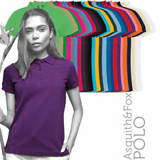 Cotton Classic Collar Polo Shirts for Women