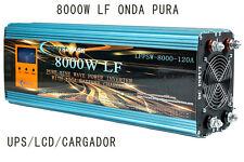 Inverter 8000W LF Invertitore Di Onda Pura Del Segnale 24V 230V+LCD+