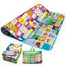 2 Sided Soft Foam Educational Kids Crawling Toy Game Picnic Play Mat | 200X180CM