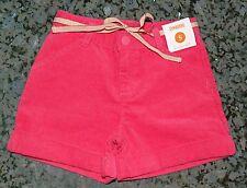 NWT GYMBOREE Girls Shorts corduroy Hot Pink gold Pockets Sz. 5T 5