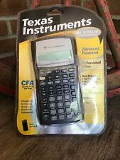 Texas Instruments BA II 2 Plus Professional Financial Calculator + Case - NOS