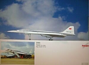Herpa Wings 1:200 Tupolev TU-144D Aeroflot CCCP-77114 570633