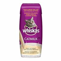 WHISKAS CATMILK DRINK FOR CATS & KITTENS 200ml x 3 - FREE SHIPPING