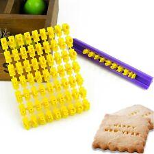 Alphabet Numbler Letter Fondant Cookie Biscuit Cutter Cake Mold Stamp Embosser