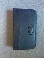 CASE LOGIC 64 Disc Black Leather Zipper Case for CD/DVD's
