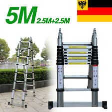 5M Aluminium Telescopic ladder Scala in alluminio telescopica Extension Ladder