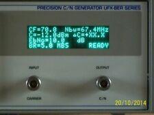 NOISE COM source NOISECOM UFX precision c/n generator test set rauschquelle