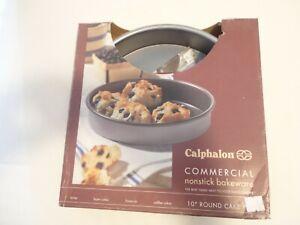 Calphalon Nonstick Commercial Bakeware, Round Cake Pan, 10-inch