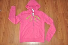 BNWT Gilly Hicks by Abercrombie Fitch Hoodie Hot Pink Size Large SOLD OUT