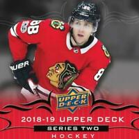 2018-19 Upper Deck Canvas Series Two Hockey Cards Pick From List W/ Short Prints