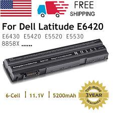 Laptop Battery for Dell Inspiron E5420 E5430 E5520 E5530 E6420 E6430 E6520
