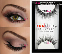 Lot 3 Pairs AUTHENTIC RED CHERRY #WSP Wispies Human Hair Lashes Wispy Eyelashes