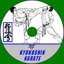 KYOKUSHIN KARATE VIDEO DVD STEP BY STEP TRAINING TECHNIQUES GUIDE BY EXPERTS NEW